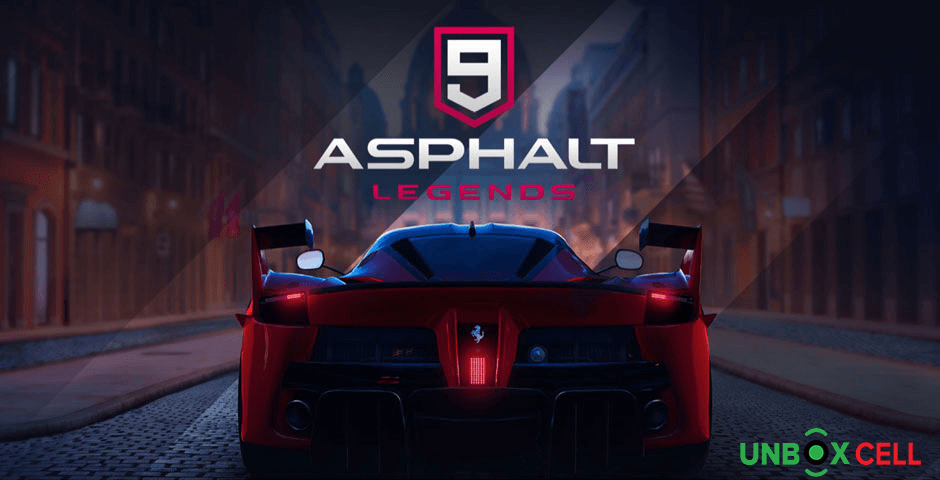 Asphalt 9 Legends: unbox cell