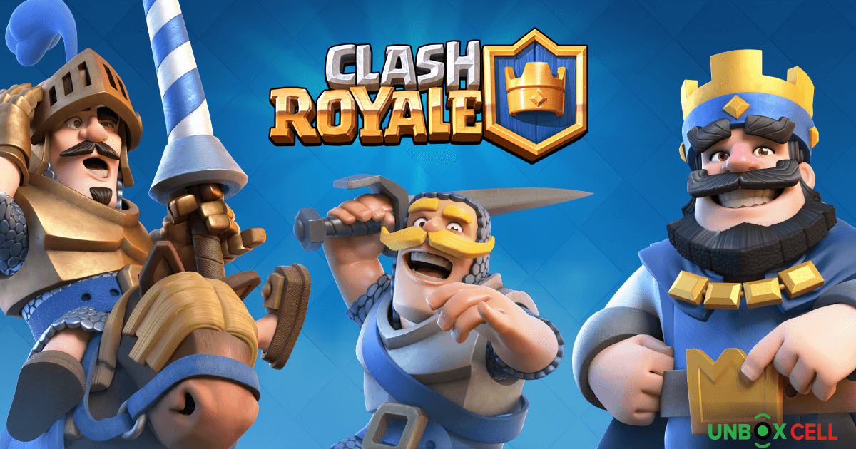 Clash Royale: unbox Cell