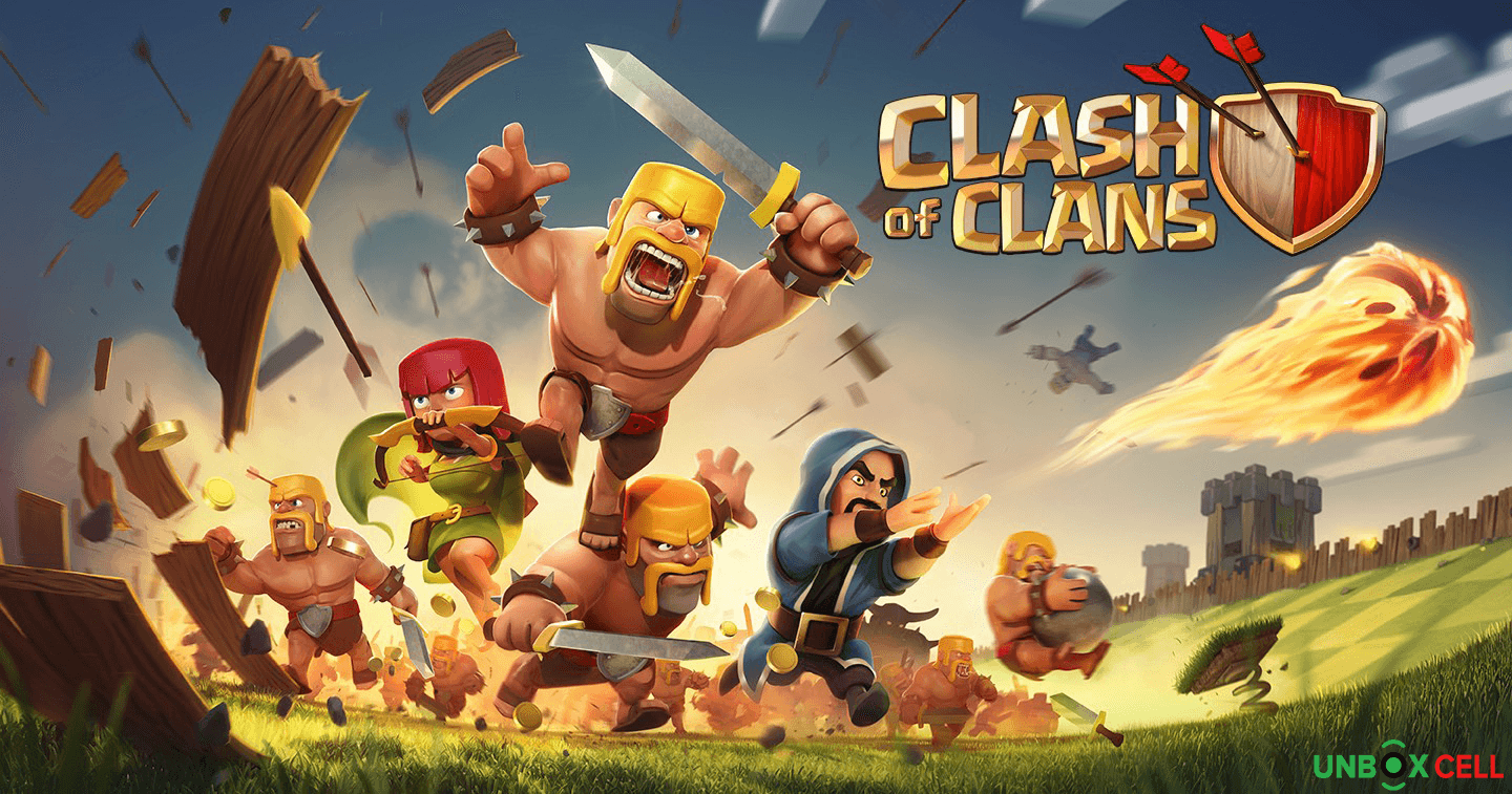 Clash of Clans: unbox Cell