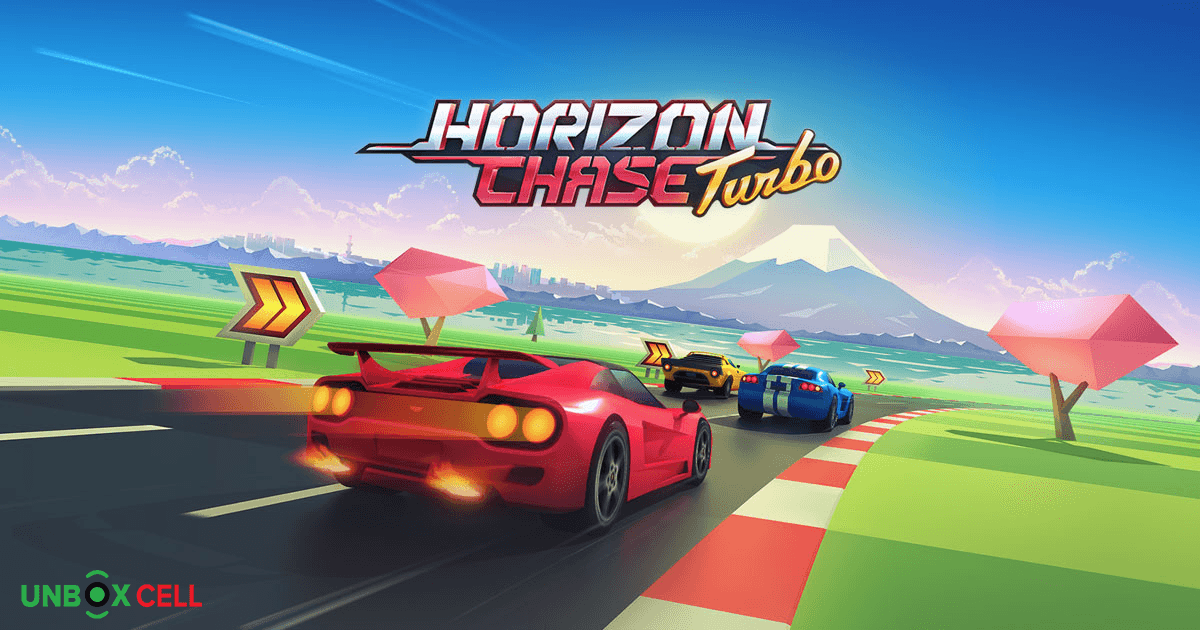 Horizon Chase: unbox cell