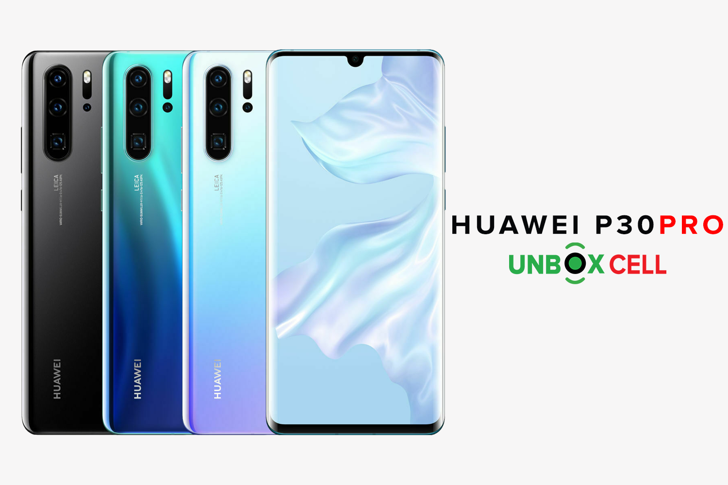 Huawei P30 Pro: Unbox Cell