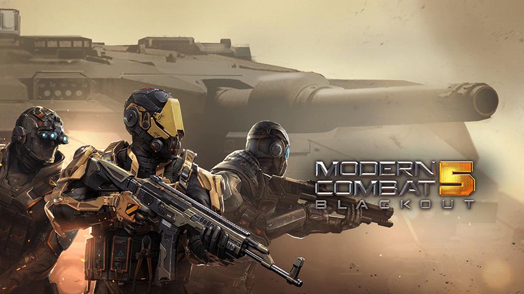 Modern Combat 5: unbox Cell