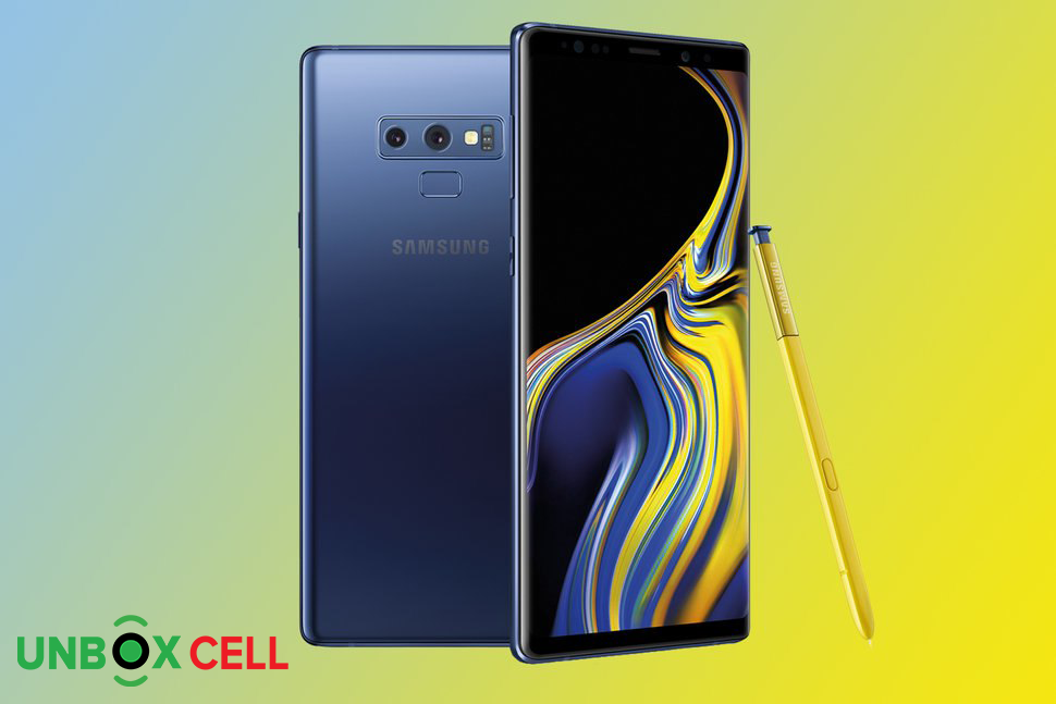 Samsung Galaxy Note 9: Unbox Cell