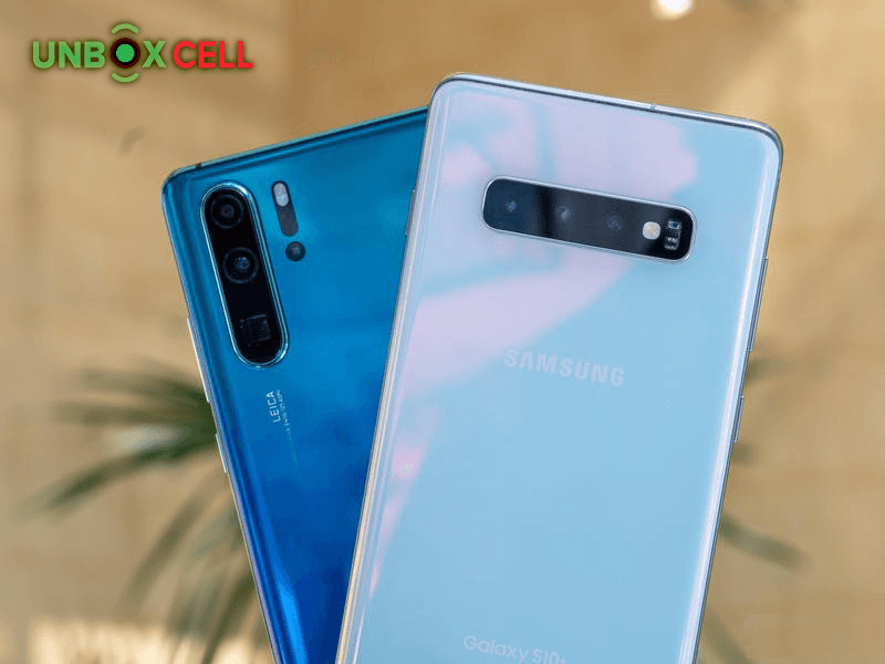 huawei p30 pro galaxy s10 plus DESIGN: unbox cell