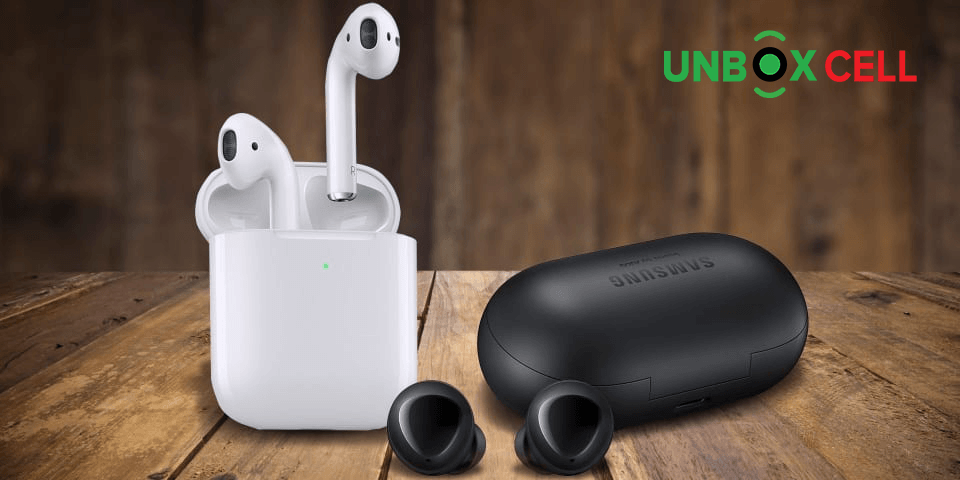 Apple Air Pods 2 vs Samsung Galaxy Buds The Audio quality- unbox cell