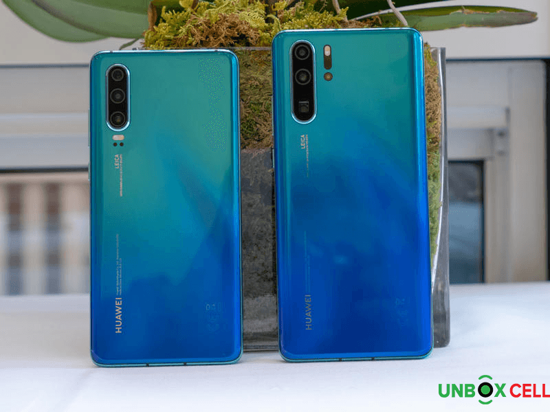Cameras Huawei P30 and P30 Pro: unbox cell