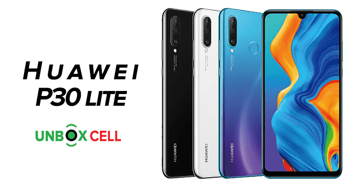 Huawei P30 lite- unbox cell