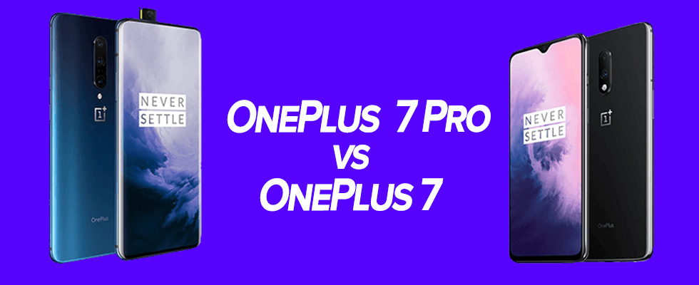 OnePlus 7 and 7 Pro- unbox cell