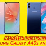 Samsung Galaxy A40s and A60- unbox cell