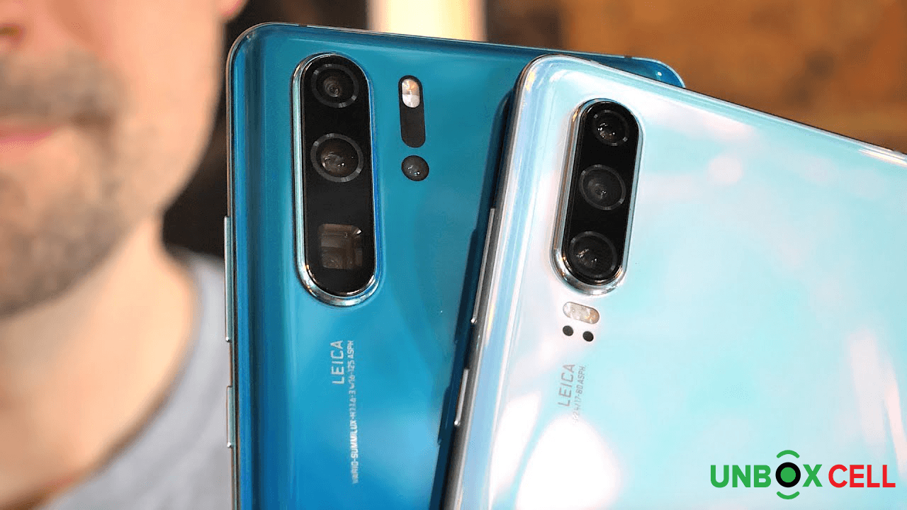 What's different on the Huawei P30 and P30 Pro: unbox cell