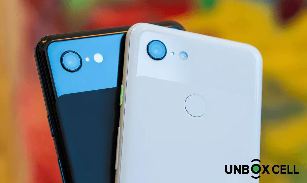 google pixel- unbox cell