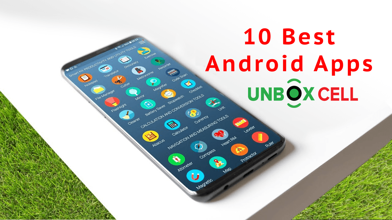 10 android best apps- unbox cell