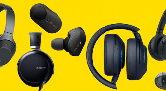 9 Premium Sony headphones: unbox cell