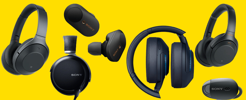 9 Premium Sony headphones: Running & Noise Cancelling