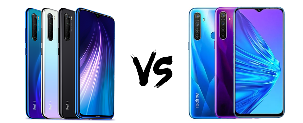 Xiaomi Redmi Note 8 vs Realme 5 Detail Comparison