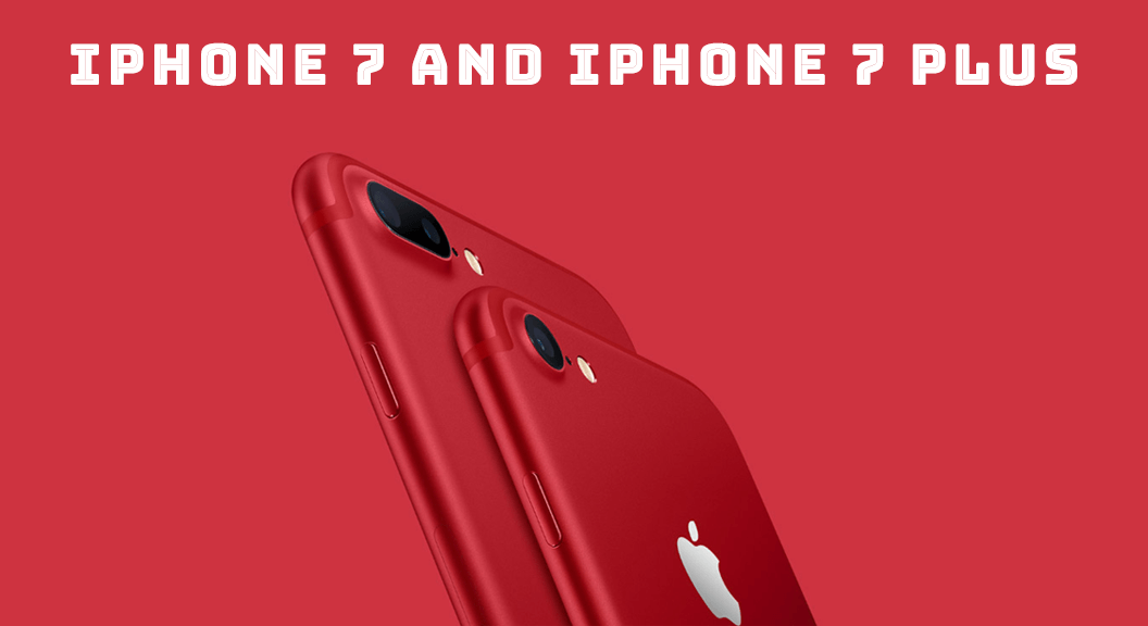 iPhone 7 &7 plus (RED): unbox cell