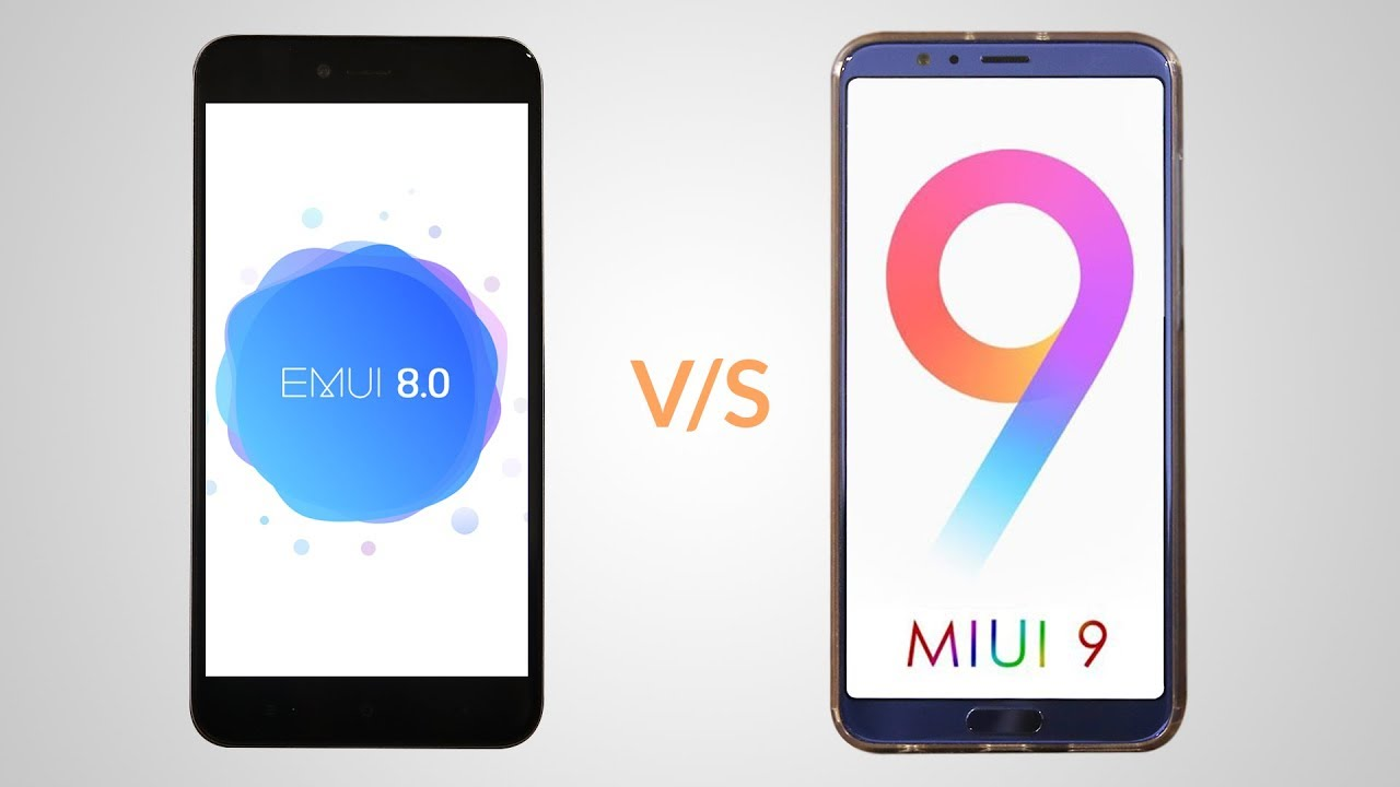 EMUI 9.0 and EMUI 8.0- unbox cell