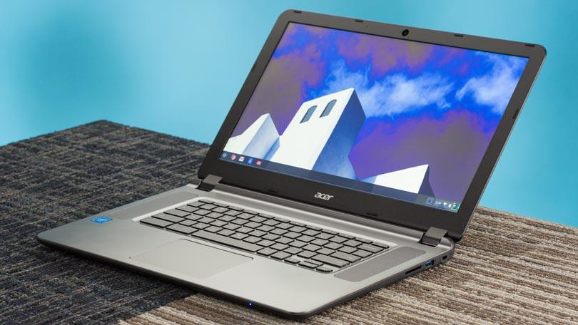 Acer Chromebook 15: unbox cell