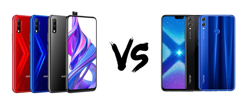 Honor 9x vs Honor 8x- unbox cell