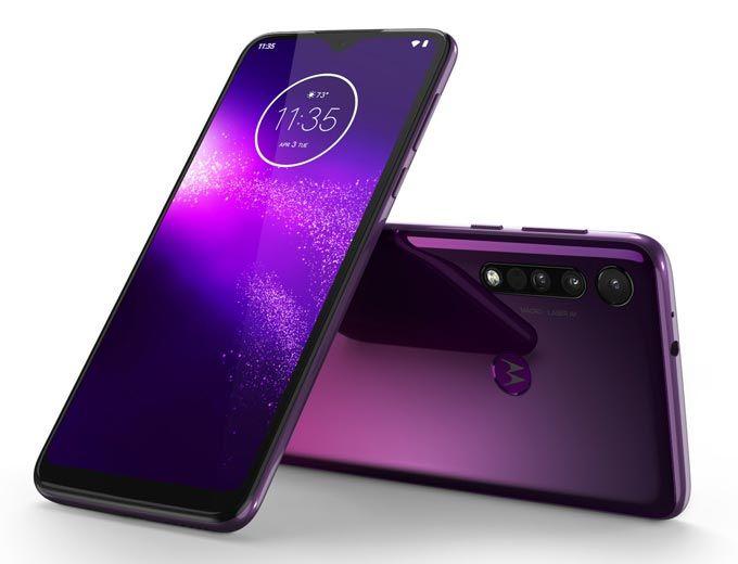 Motorola One Macro: unbox cell