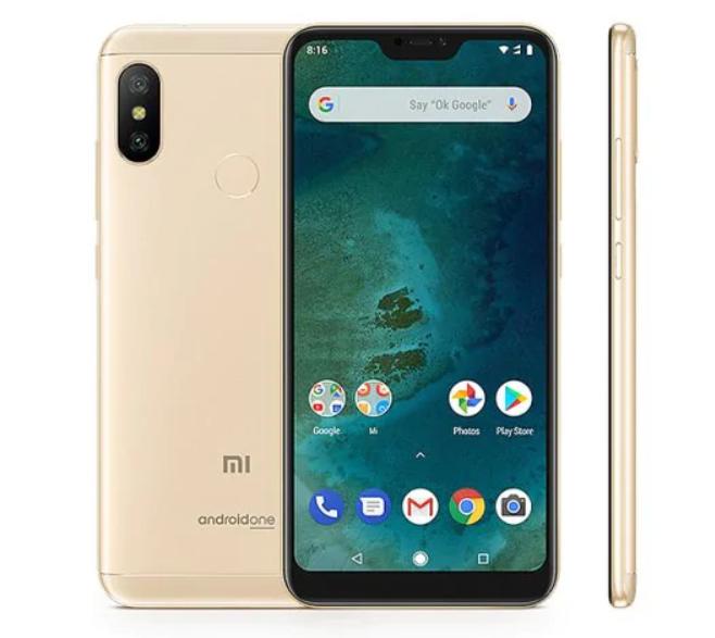 Xiaomi Mi A2 Lite: unbox cell