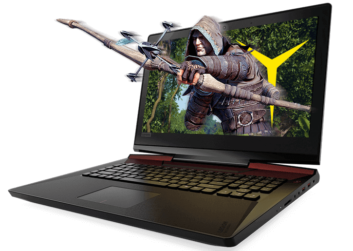 Lenovo Legion Y920 Gaming Laptop: unbox cell