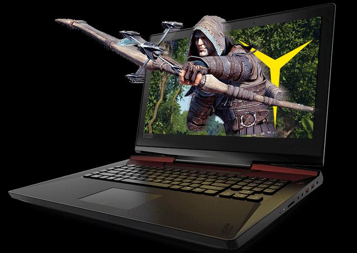 Lenovo Legion Y920 Gaming Laptop: unbox cell