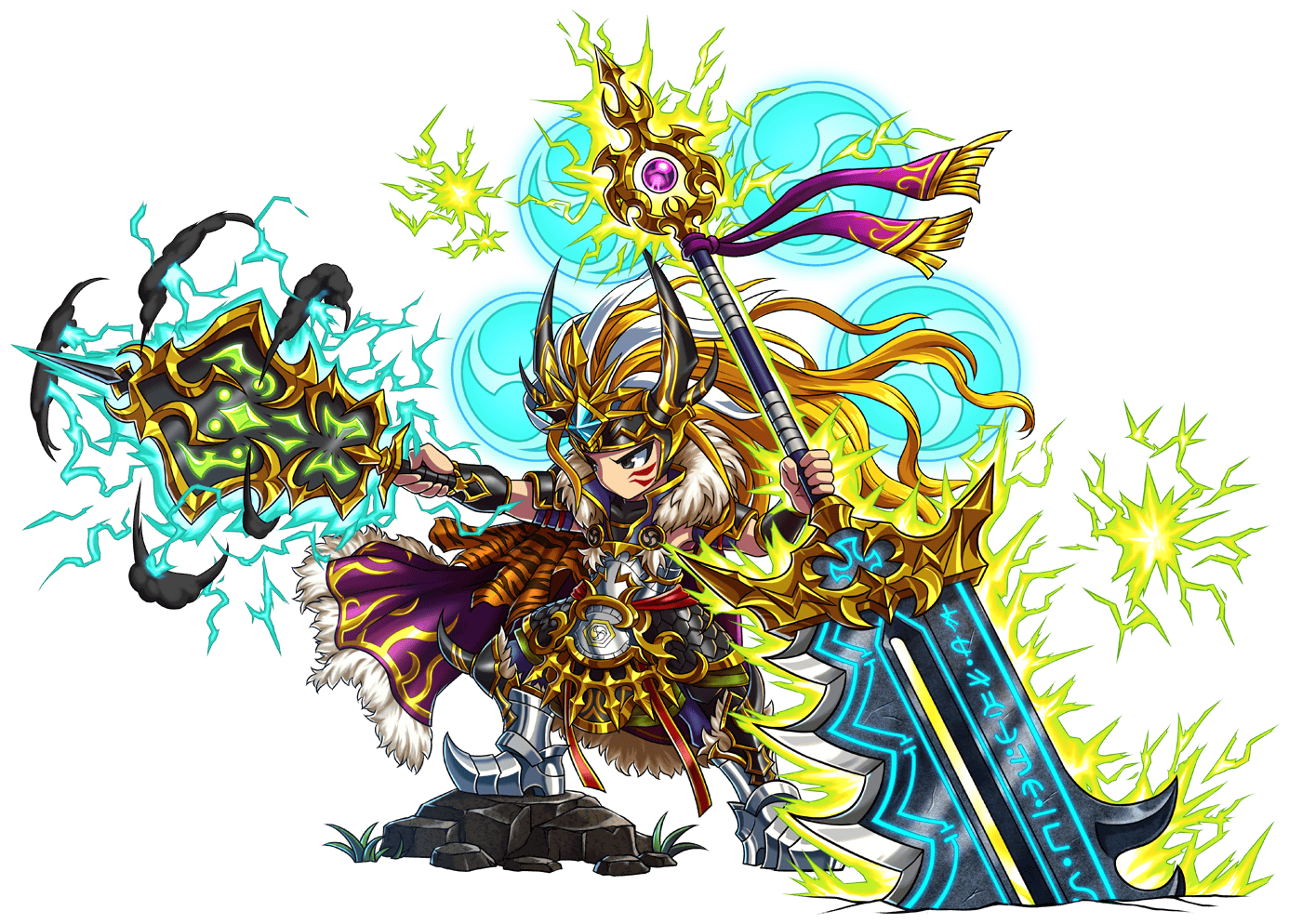 Brave Frontier: unbox cell