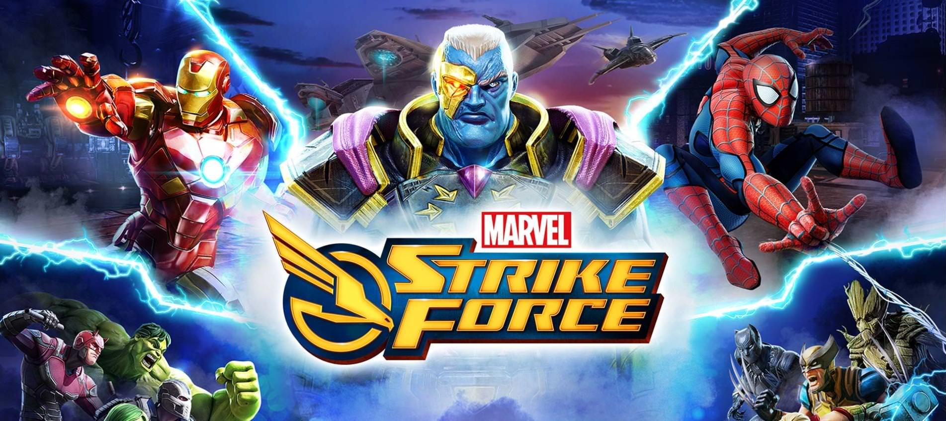 Marvel Strike Force: unbox cell