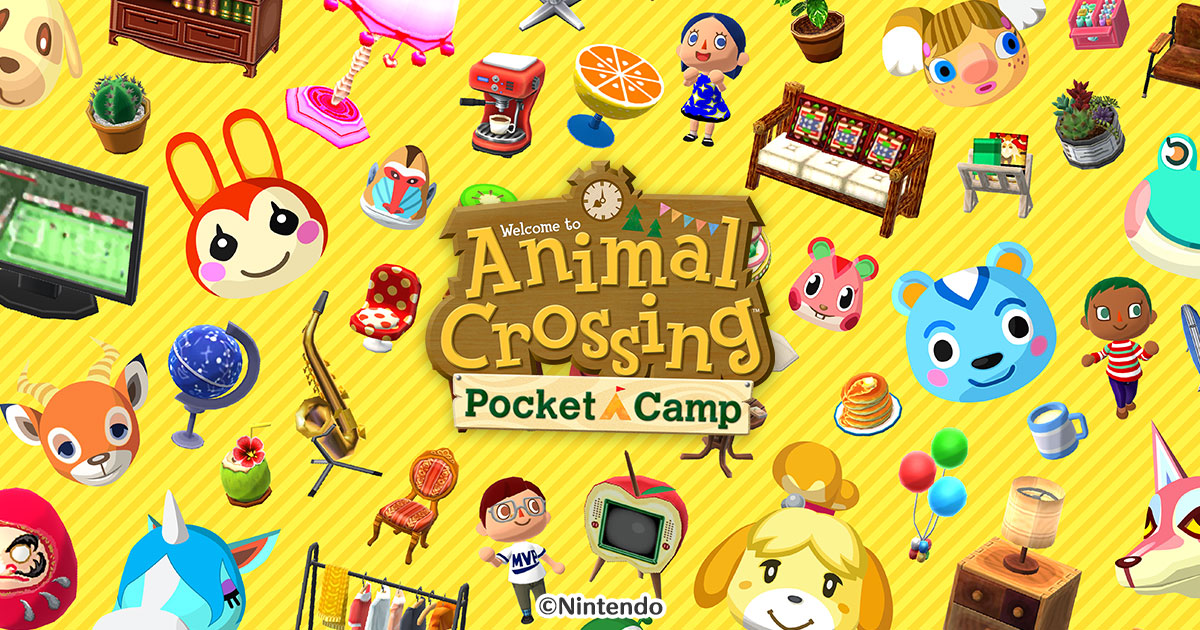Animal Crossing- Pocket Camp: unbox cell