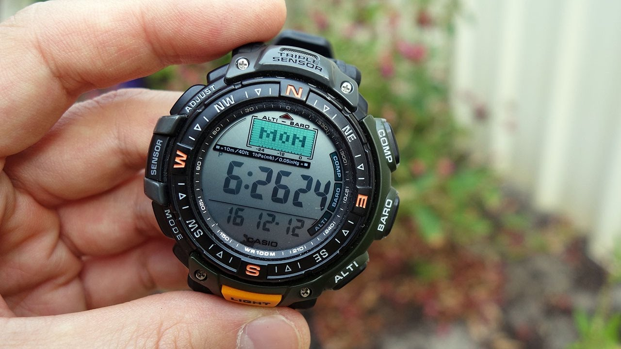 Casio Pathfinder: unbox cell