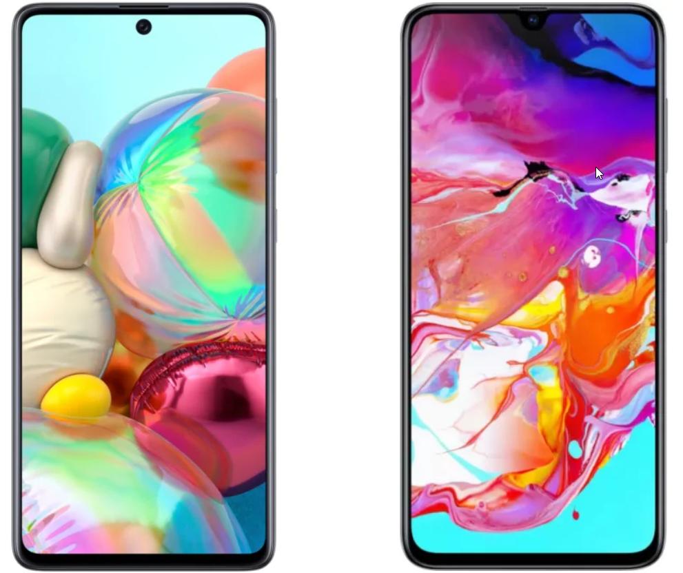 Samsung A51 vs Samsung A71