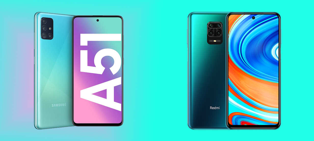 Samsung A51 vs Redmi Note 9 Pro- detail compare: unbox cell
